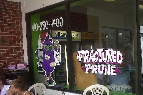 Fractured Prune on Coastal Highway