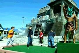 Old Pro Golf - TEMPLE OF THE DRAGON MINI GOLF
