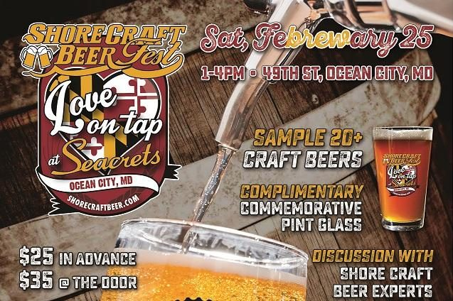Love on Tap at Seacrets