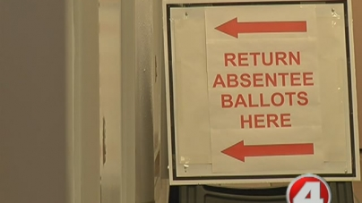 Absentee ballots accepted