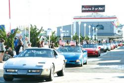CORVETTE OWNERS' WEEKEND TO CRUISE