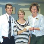 BANK OF OCEAN CITY EMPLOYEES DONATE TO COMMUNITY