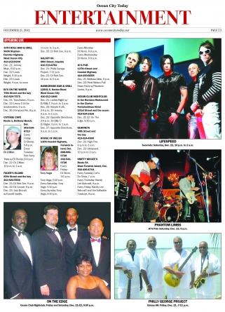 Music & Entertainment 12.21.12