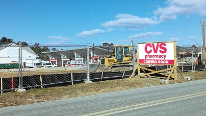 CVS moving from one location to another in West Ocean City