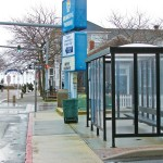 Business owners say that the relocation of the bus stop which hosts shuttles from several off-island accommodations has been a boon to stores on the Somerset Street pedestrian plaza. The city is planning to expand the bus stop.