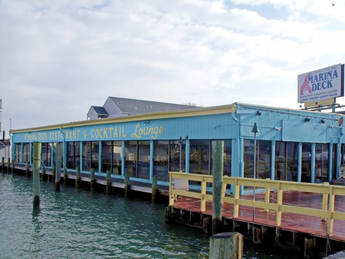 The Marina Deck restaurant will not have a second floor with entertainment because of potential problems associated with noise.