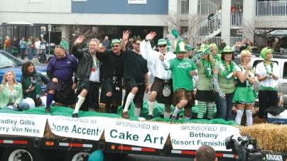 Ocean City St. Patrick's Day Parade 2019 info