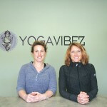 Melanie Martin, left, and Dawn Ehman opened YogaVibez on April 1, in the Ocean Creek Plaza in West Ocean City.