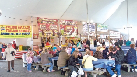 Unseasonably cool temps blamed for drop in Springfest visitors
