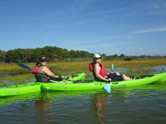 superfun kayak-tours-at-assateague