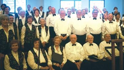 Pine Tones Chorus presents spring concert June 2 at church