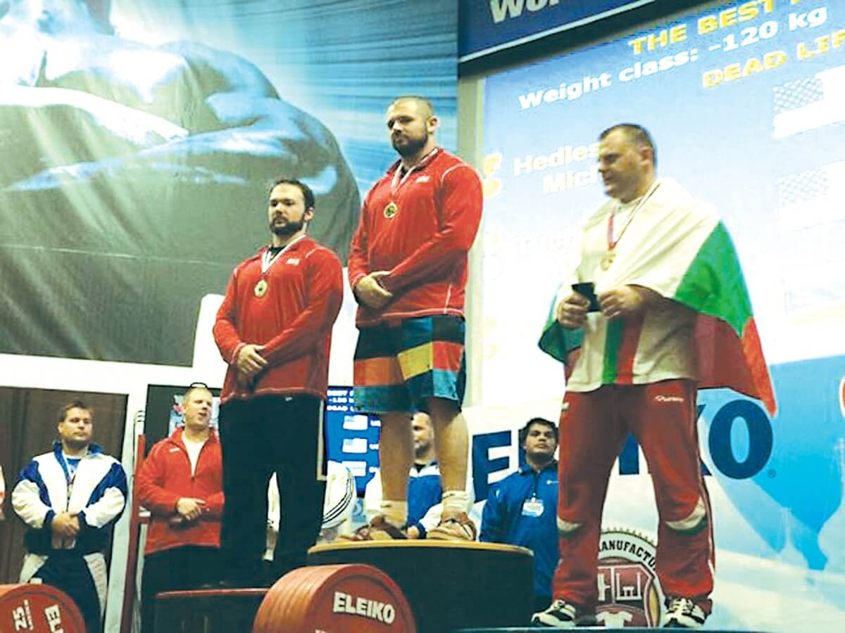 Hedlesky wins gold medal with 777lb. deadlift