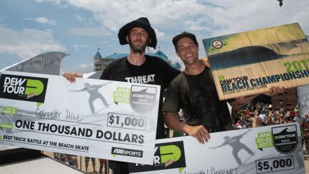 Pedro Barros Takes Third Consecutive Skate Bowl Win at Dew Tour Beach Championships