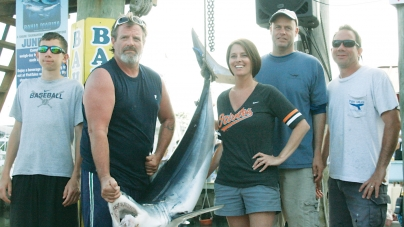 Barr's 209.5-pound mako shark takes top tournament honors