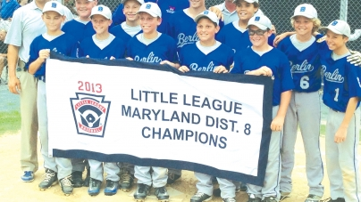Berlin Major Leaguers win Dist. 8 title