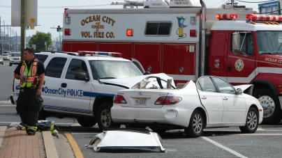 Police SUV in serious crash going through 28th St. intersection