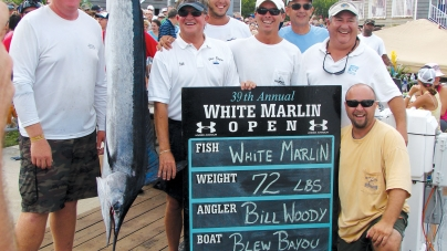 Annual White Marlin Open kicks off Monday, runs through Fri.