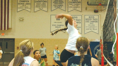 SD volleyball players 'energetic'