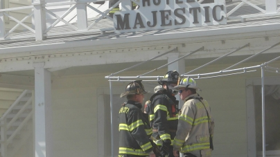 Fire guts ground level store at Majestic, but hotel itself saved