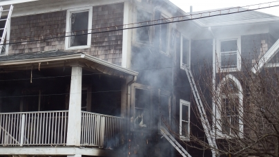Church fire claims lives of two; bizarre circumstances under investigation