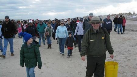 34th annual Beach Walk Jan.1