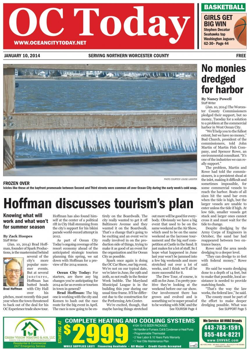 Letter from the publisher: Introducing a new look for Ocean City Today
