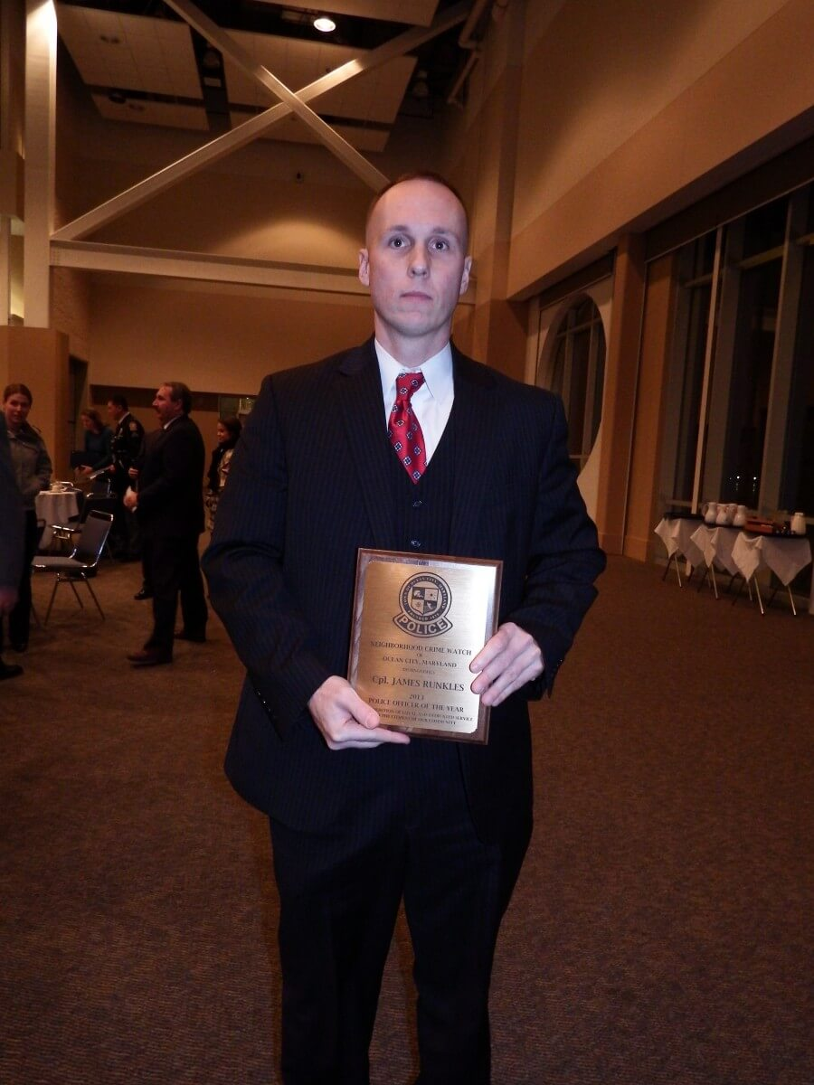 Runkles, others honored at OCPD banquet