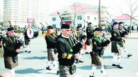 St. Patrick's Day parade rolls into OC