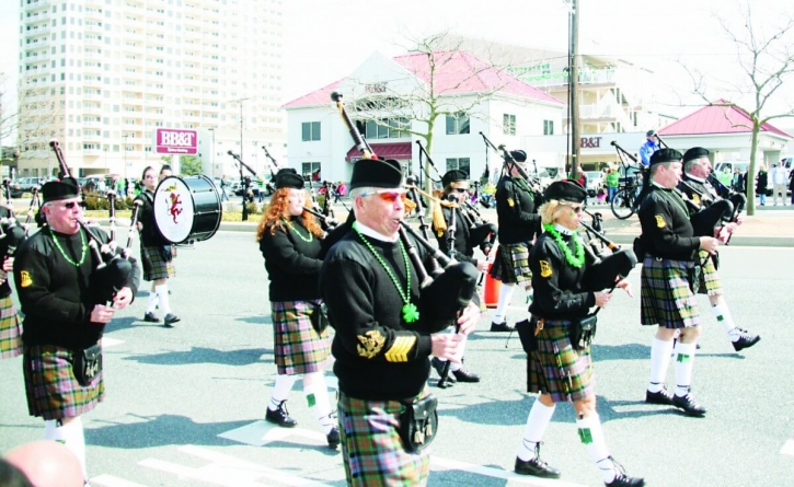 St. Patrick's Day parade rolls into OC