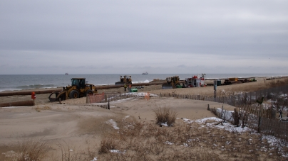 Dredging starts on north end of town