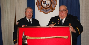 Fire department holds first combined awards ceremony