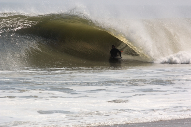 One wave…