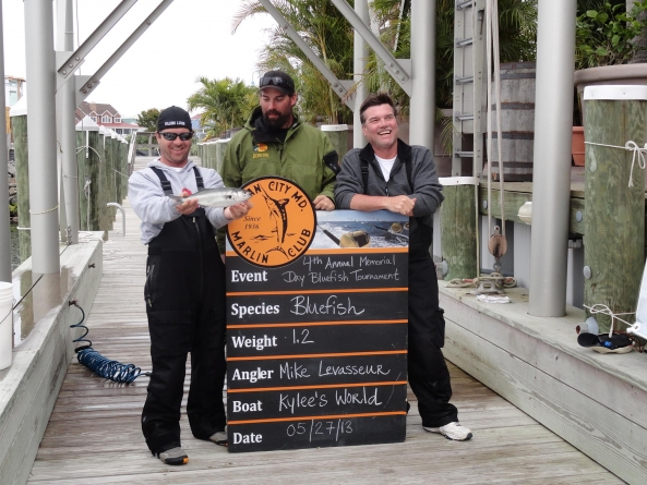Fifth annual bluefish tournament this wknd.