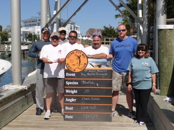 OCMC bluefish tournament to benefit Kratz foundation