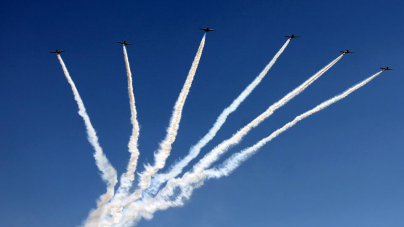 Air show gets free upgrade