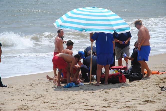 OCBP rescues bodysurfing victim off 82nd St. beach