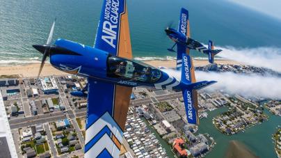 Flying over the Ocean City Boardwalk with John Klatt