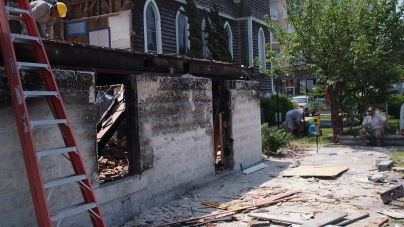 St. Paul's rectory demolition nearly done