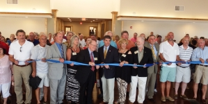 Crowds turn out for OP Yacht Club ribbon cutting