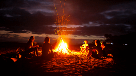 Bonfires of the Eastern Shore