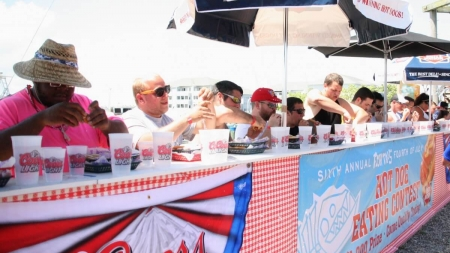 Qualify now for July 4 hot dog-eating competition