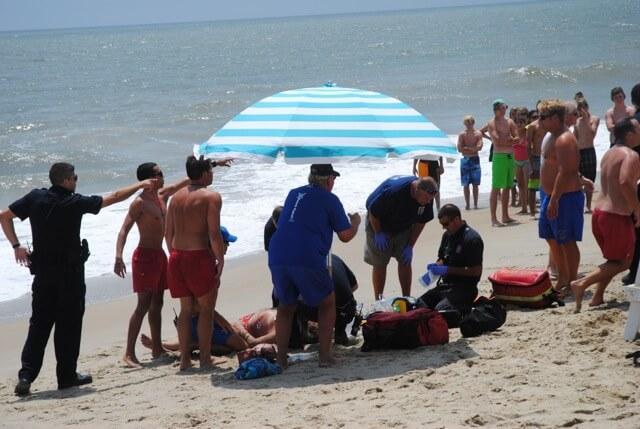 Bodysurfer, 69, dies from injuries