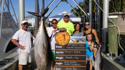 Marlin Club's 32nd Canyon Kick Off attracts 57 boats