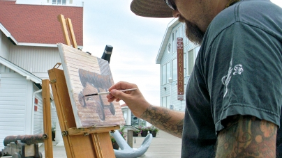 Take an art walk this weekend