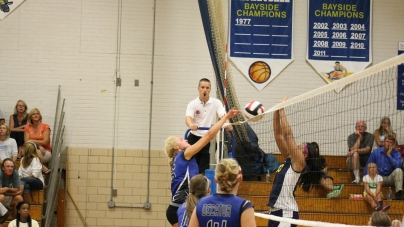 Decatur volleyball team takes down Pocomoke squad