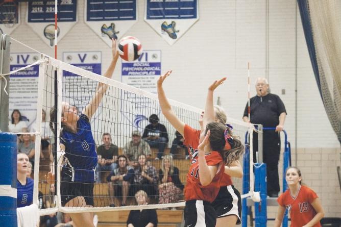 Stephen Decatur volleyball team tops Worcester