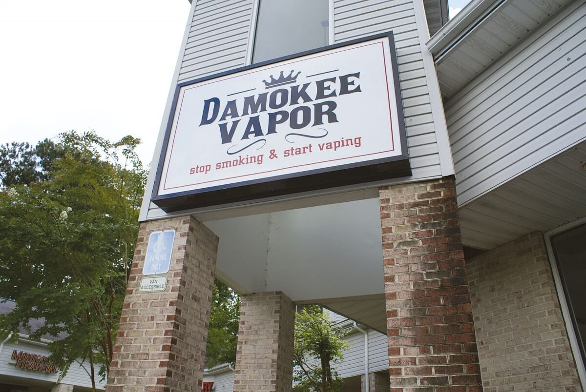 Shop offers alternatives to traditional tobacco products