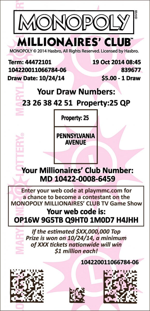Who holds $1M winning ticket purchased at GT? - OceanCity com
