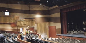 Arts center trades sound of hammers for sound of music