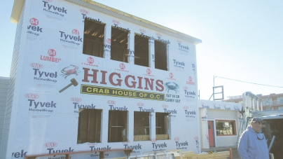 Higgins adding open air, rooftop deck seating area